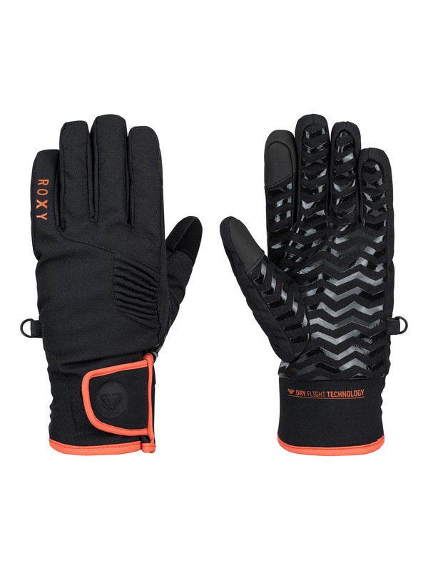 0 High Five Snowboard Gloves  ERJHN03006 Roxy