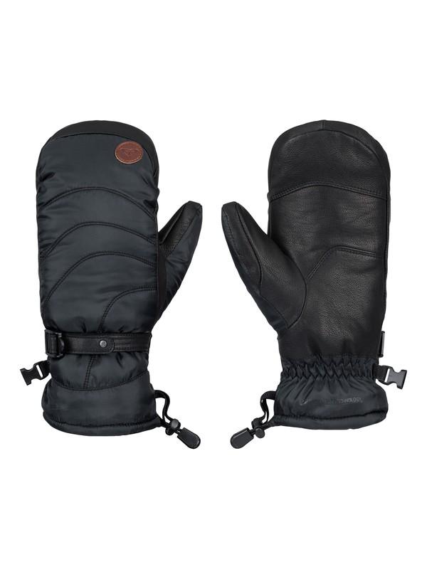 0 Victoria -  Leather Mittens  ERJHN03018 Roxy