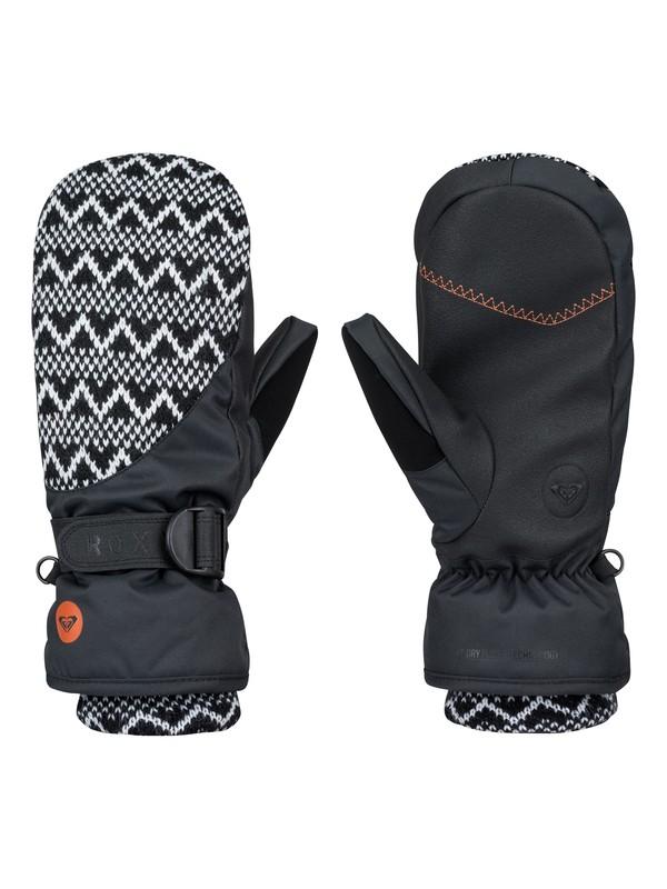 0 Jacquard Snowboard Mittens  ERJHN03021 Roxy