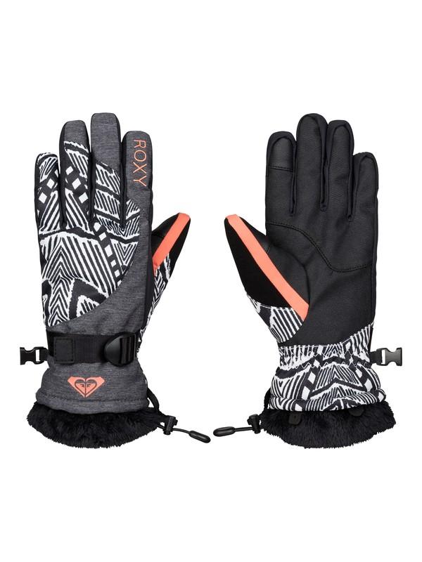 0 Merry Go Round - Snow Gloves  ERJHN03031 Roxy
