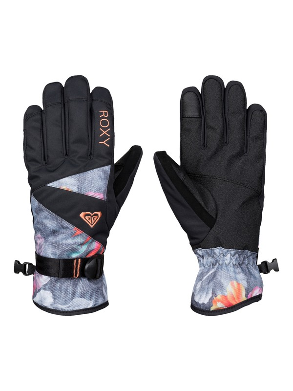0 ROXY Jetty Snow Gloves  ERJHN03032 Roxy