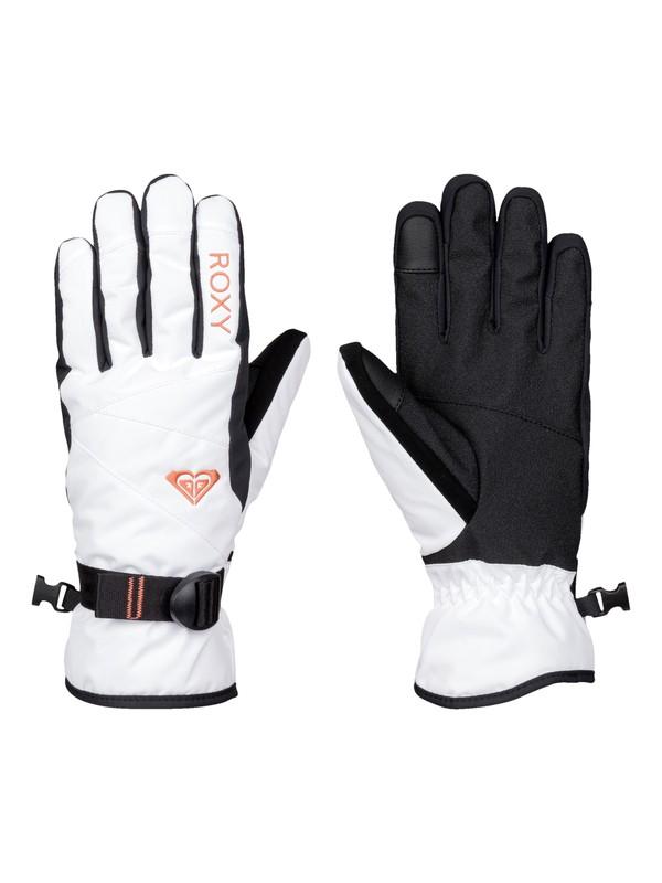0 ROXY Jetty Solid Snow Gloves  ERJHN03042 Roxy