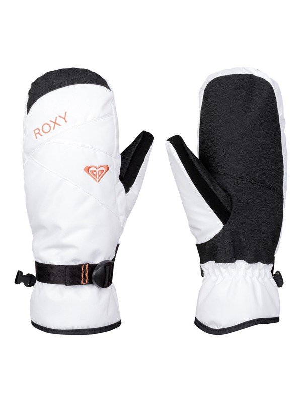 0 ROXY Jetty Solid - Snow Mittens  ERJHN03043 Roxy