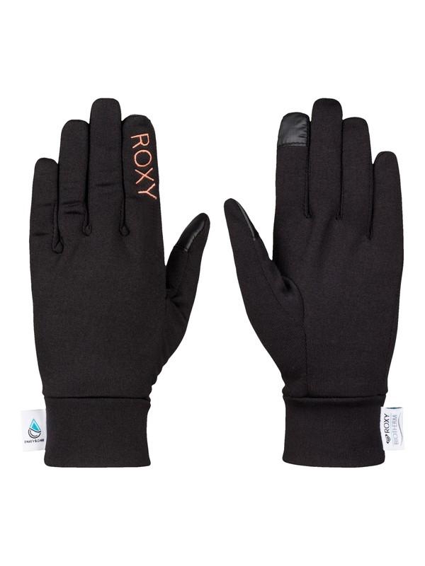 0 Enjoy & Care - Liner Snow Gloves  ERJHN03050 Roxy