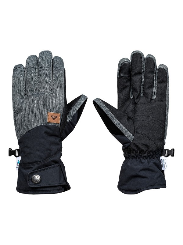0 Vermont - Snowboard/Ski Gloves Black ERJHN03065 Roxy