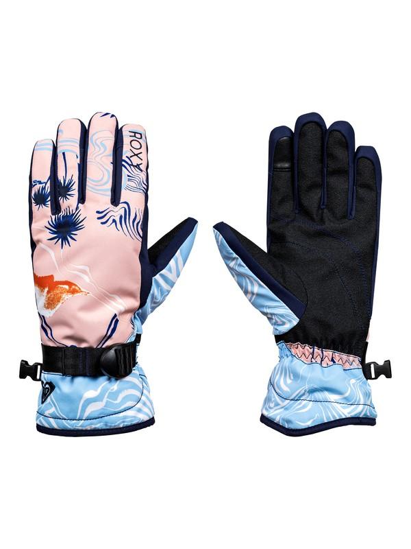 0 ROXY Jetty - Snowboard/Ski Gloves Orange ERJHN03068 Roxy