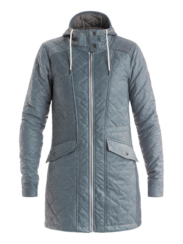0 Lofty Sweat - Quilted Technical Parka  ERJJK03121 Roxy