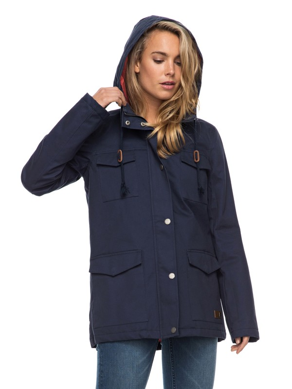 0 Sea Song Jacket Blue ERJJK03192 Roxy