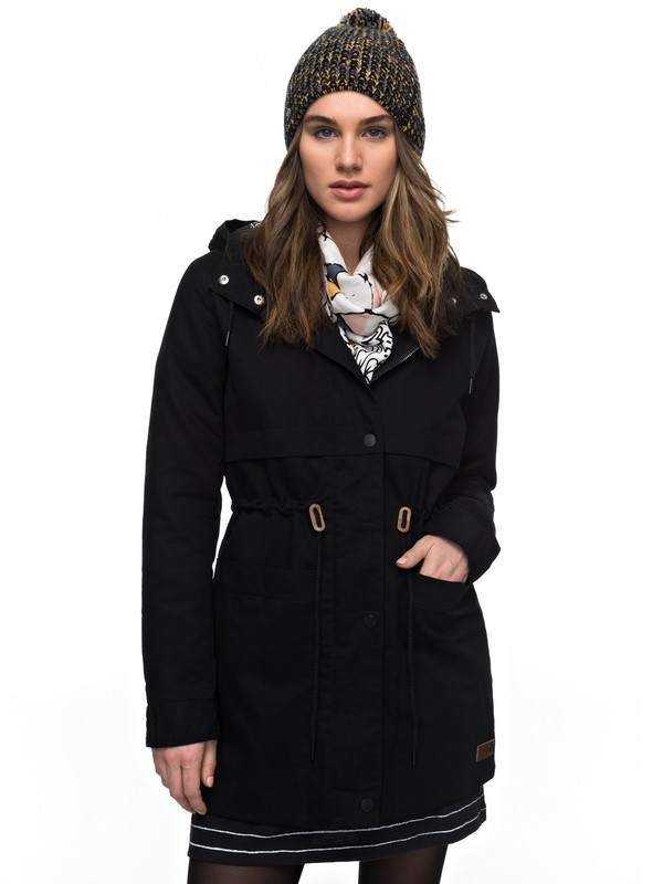 0 Sea Dance - Waterafstotende Parka Black ERJJK03199 Roxy