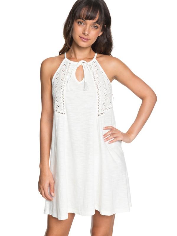 0 Enchanted Island - Strappy Dress White ERJKD03164 Roxy