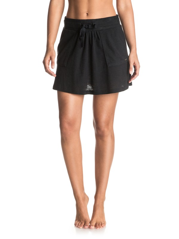 0 Fair Game - Mini Skirt Black ERJKK03010 Roxy