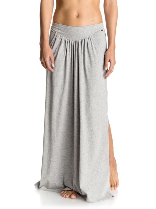0 Sounds Of Silence - Maxi Skirt Grey ERJKK03012 Roxy