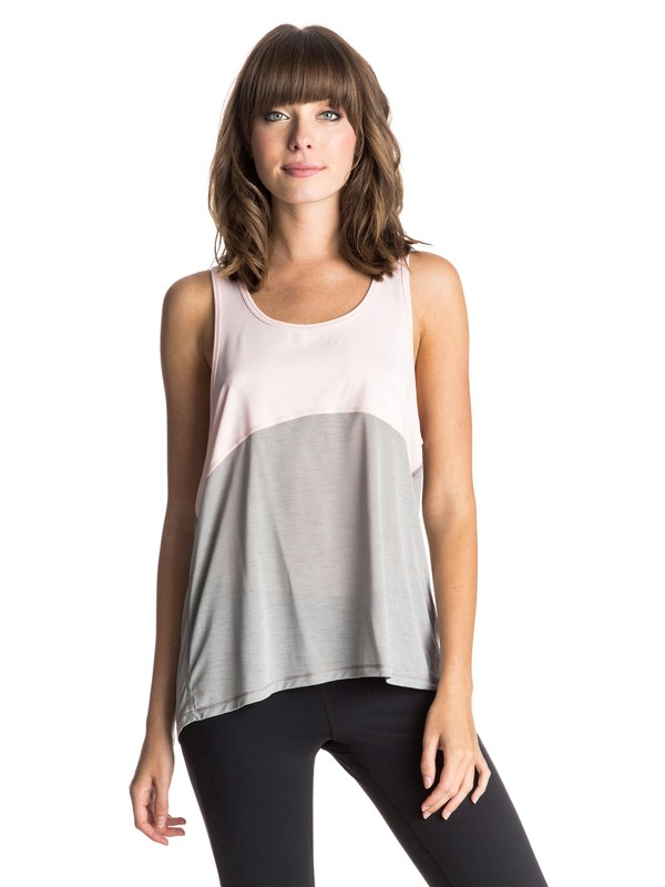 0 Devotee - Top sans manches Gris ERJKT03045 Roxy