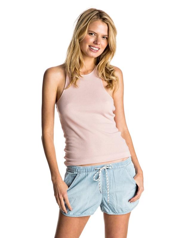0 T Bundoran - Vest Top Pink ERJKT03193 Roxy