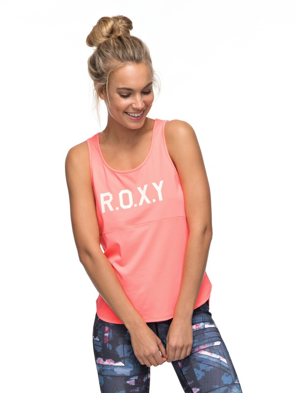 0 Shiny Way - Funktionelles Weste Top Rosa ERJKT03294 Roxy