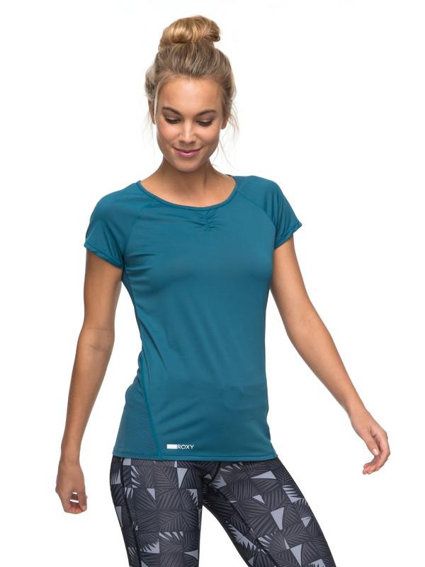 0 Wild Soul - Funktionelles T-Shirt Blau ERJKT03295 Roxy
