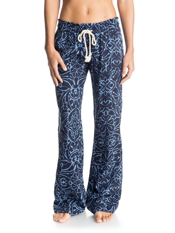 0 Oceanside Printed Beach Pants  ERJNP03015 Roxy