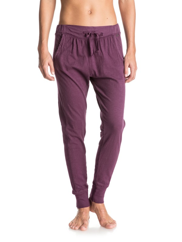 0 California Saga Jogger Pants Purple ERJNP03058 Roxy