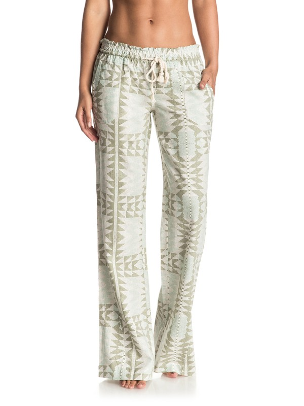 0 Oceanside Printed Beach Pants  ERJNP03088 Roxy