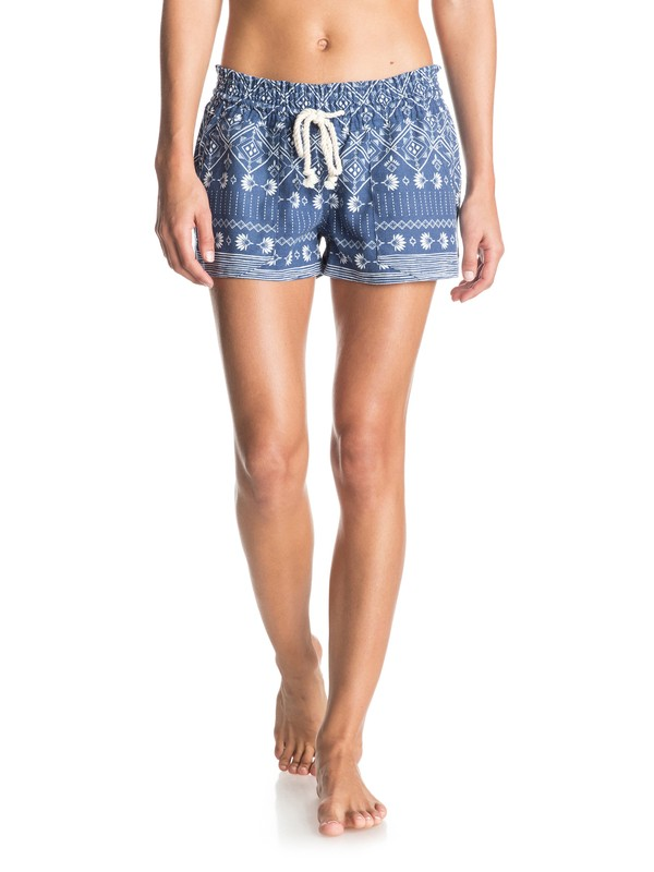0 Oceanside Printed Beach Shorts  ERJNS03059 Roxy