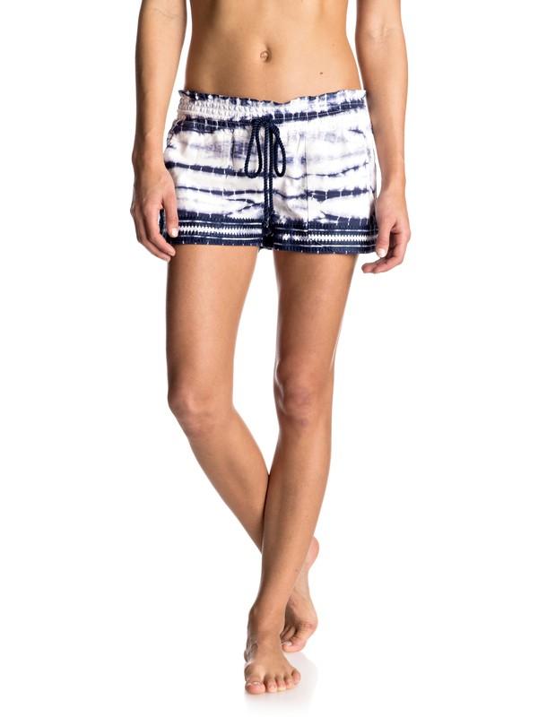 0 Oceanside Yarn Dye Beach Shorts  ERJNS03074 Roxy