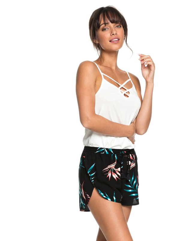 0 Rum Cay Beach Shorts Black ERJNS03163 Roxy