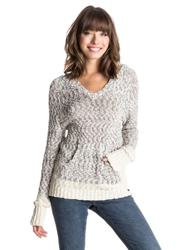 0 Time Will Tell Hooded Sweater  ERJSW03089 Roxy