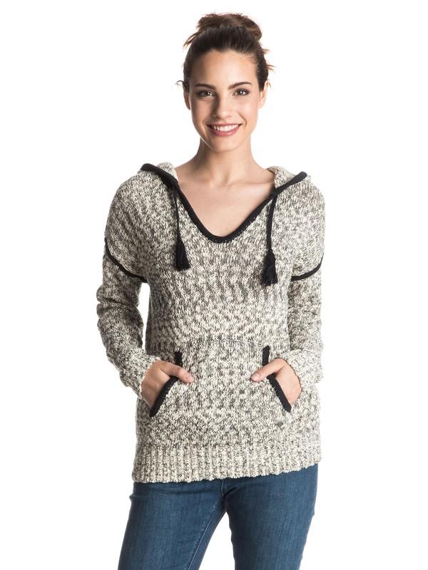 0 Dances With Waves Hooded Sweater  ERJSW03127 Roxy