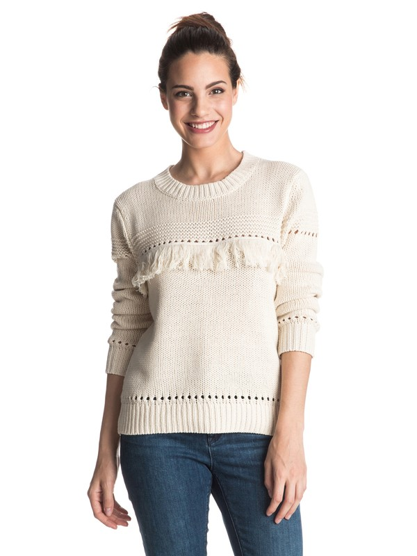 0 Cove Dweller - Sweat Beige ERJSW03128 Roxy