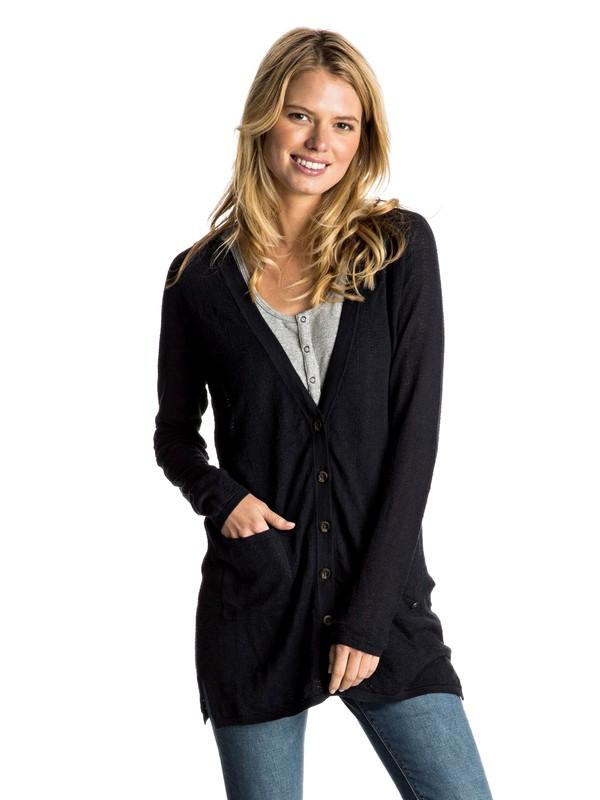 0 Belle Isle Button Up Sweater  ERJSW03181 Roxy