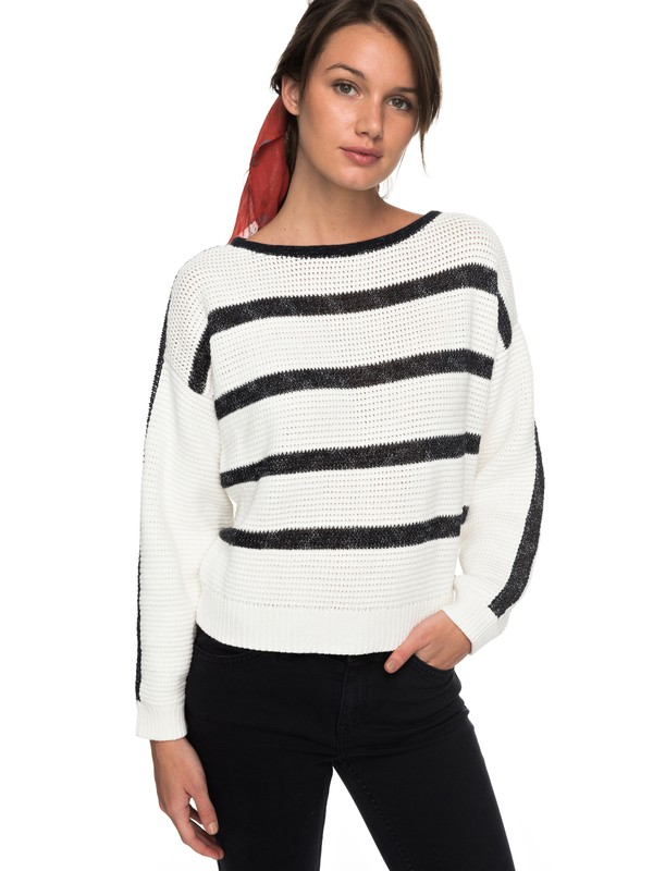 0 Balmy Nights - Jumper White ERJSW03243 Roxy