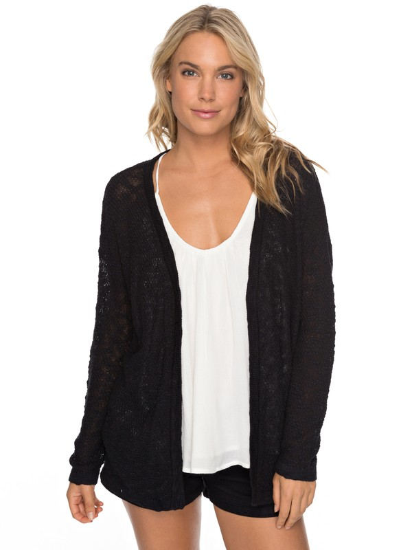 0 Livin Sunday - Cardigan Black ERJSW03246 Roxy