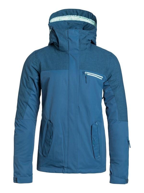 0 Jetty Solid Snow Jacket  ERJTJ03010 Roxy