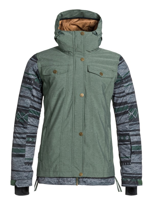 0 Ceder Snow Jacket  ERJTJ03012 Roxy