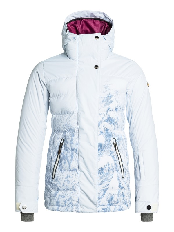 0 Torah Bright Crystalized Printed Snow Jacket  ERJTJ03030 Roxy