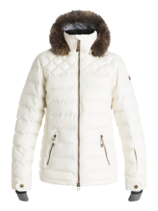 Quinn Quilted Snow Jacket 889351143556 Roxy