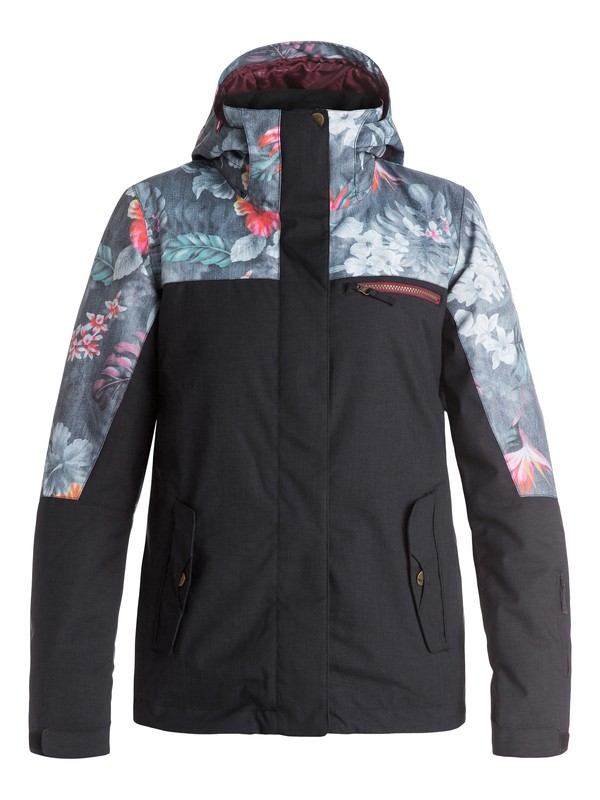 0 ROXY Jetty Block Snow Jacket  ERJTJ03054 Roxy