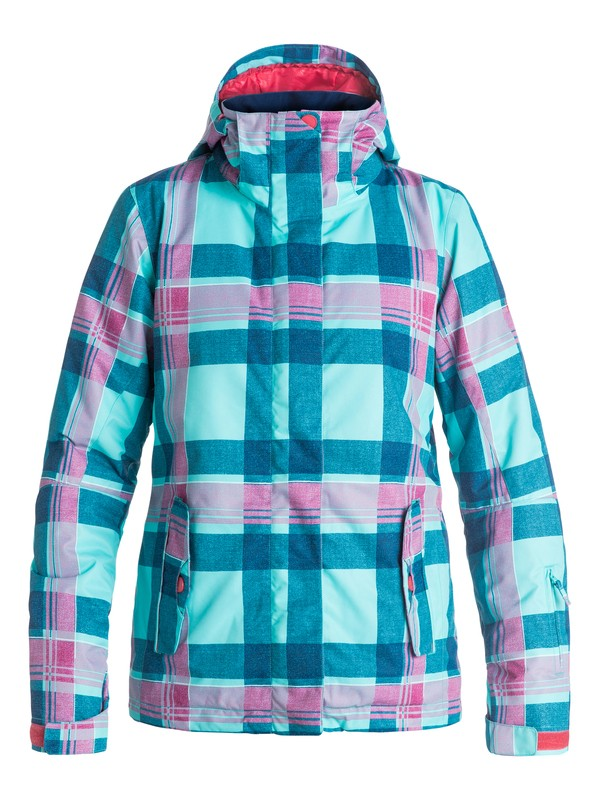 0 ROXY Jetty Snow Jacket Blue ERJTJ03055 Roxy