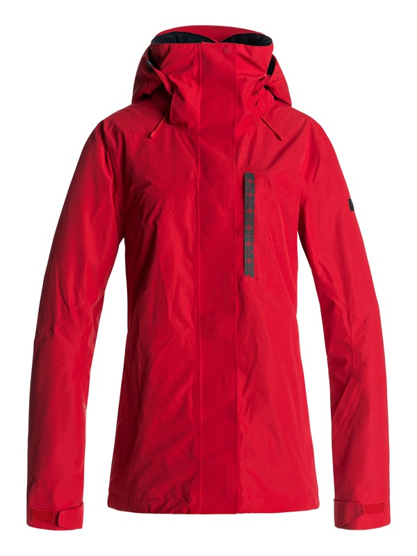 0 Wilder 2L GORE-TEX® - Snow Jacket Red ERJTJ03104 Roxy