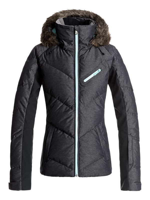 0 Snowstorm - Snow Jacket Black ERJTJ03105 Roxy