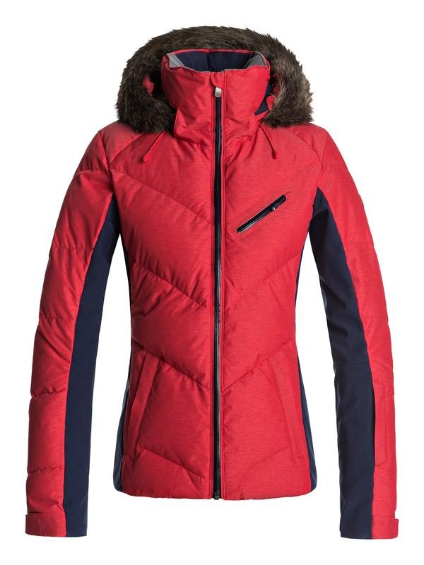 0 Snowstorm - Snow Jacket Red ERJTJ03105 Roxy