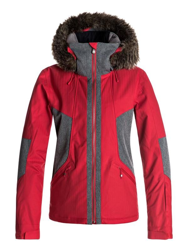0 Atmosphere - Snow Jacket Red ERJTJ03108 Roxy