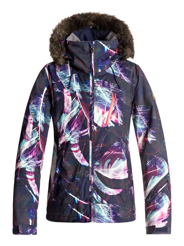 0 Сноубордическая куртка Jet Ski Premium Синий ERJTJ03110 Roxy