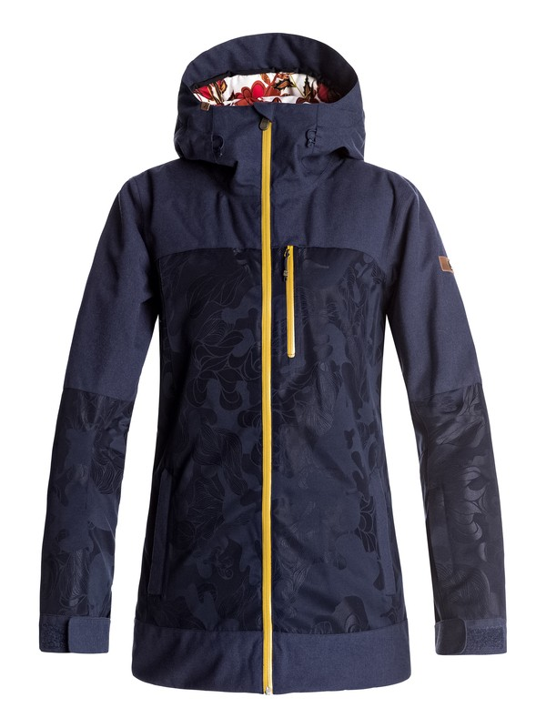 0 Torah Bright Stormfall - Snow Jacket Blue ERJTJ03112 Roxy