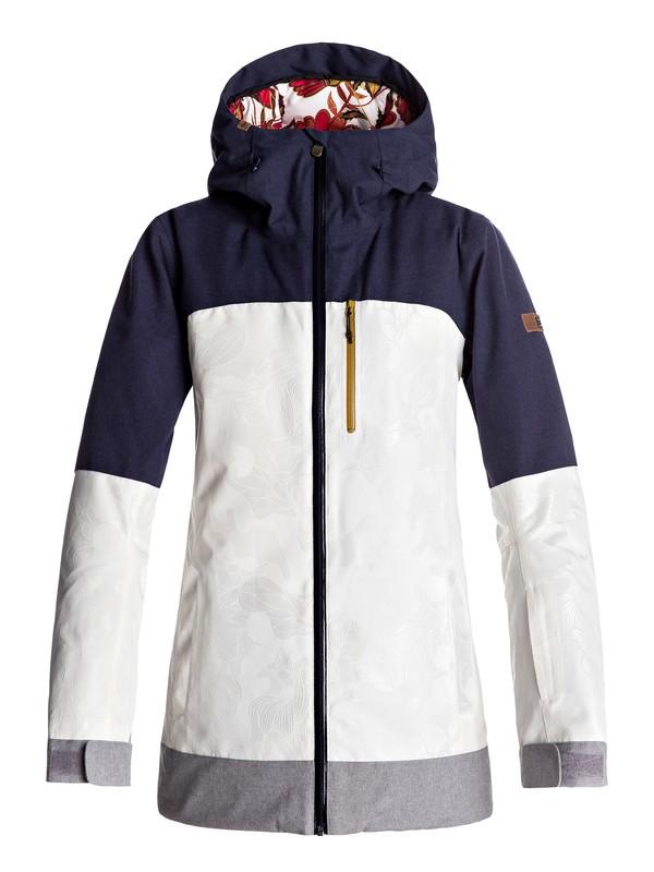 0 Torah Bright Stormfall - Snow Jacket White ERJTJ03112 Roxy