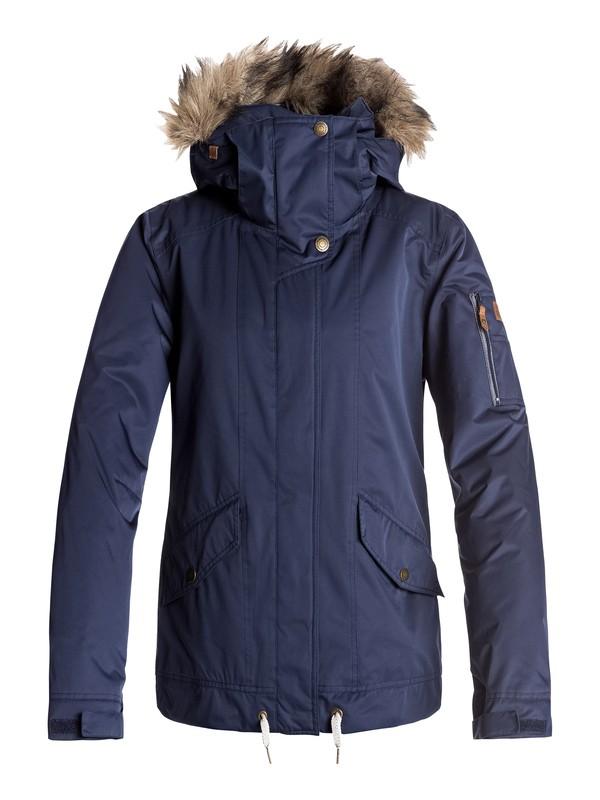 0 Grove - Snow Jacket Blue ERJTJ03114 Roxy