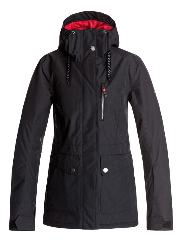 0 Andie - Snow Jacket Black ERJTJ03116 Roxy