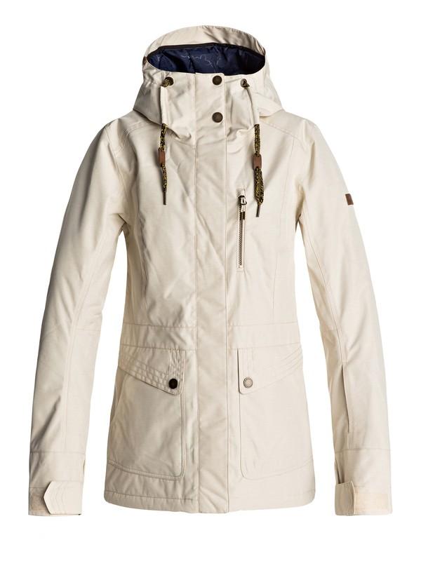 0 Andie - Snow Jacket Beige ERJTJ03116 Roxy