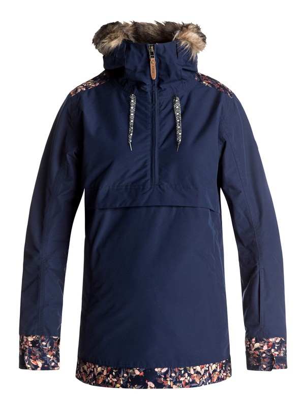 0 Shelter - Snow Jacket Blue ERJTJ03119 Roxy