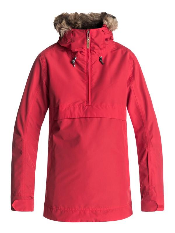 0 Shelter - Snow Jacket Red ERJTJ03119 Roxy